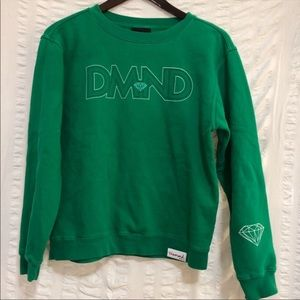 Women's Diamond Supply Emerald Green Sweater M